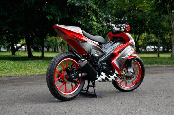 Modifikasi Jupiter Mx Jari2