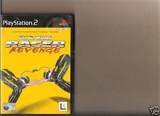 STAR WARS RACER REVENGE PLAYSTATION 2 PS2 PS 2 RARE