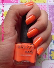 Esmalte da Vez: Sweet Orange - Arezzo Nails