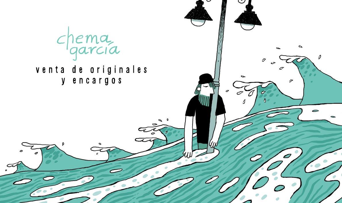 Chema García, ilustrador.
