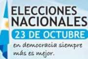Resultados de las Elecciones Presidenciales y Legislativas de Argentina 23 de octubre 2011