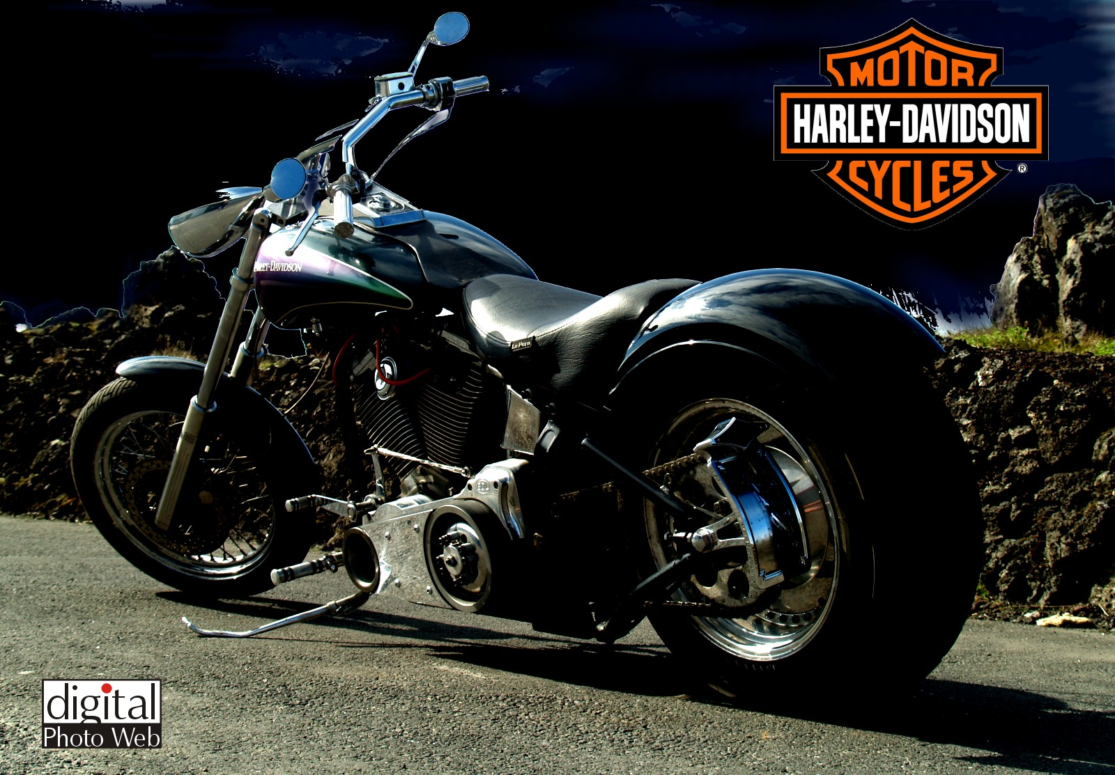 Harley Davidson Bikes HD Wallpapers Free Download Desktop Full