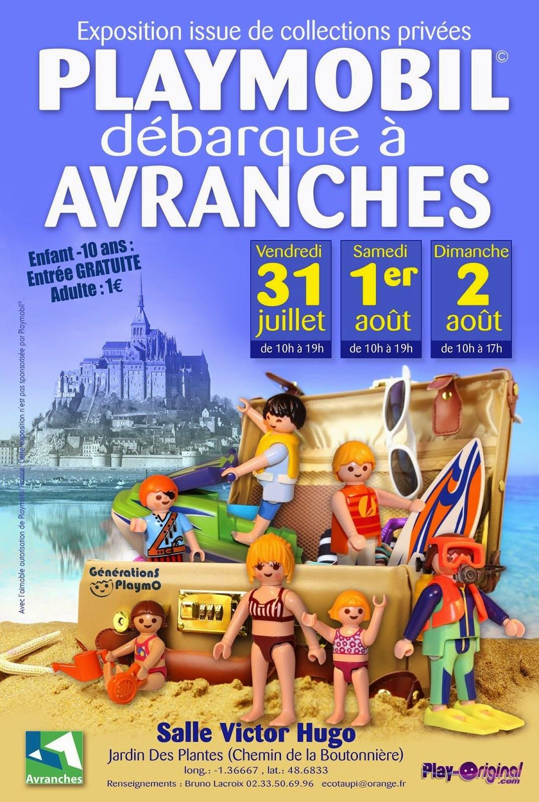 Expo-vente Avranches, 31 juillet, 1er et 2 Août 2015