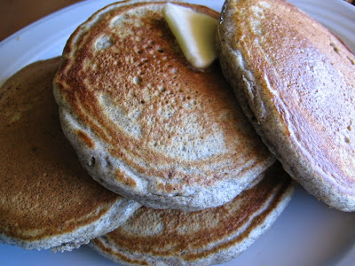 Fluffy Buckwheat Griddlecakes