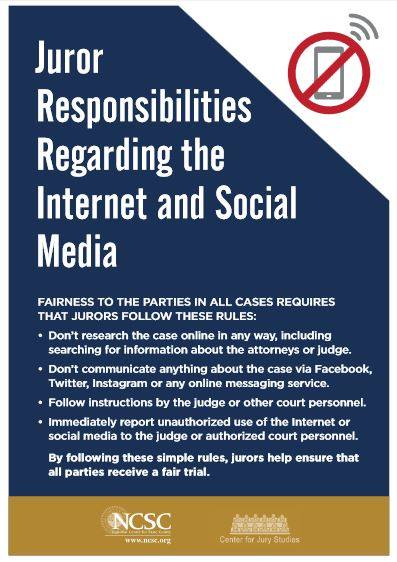 Blog Law Online New Poster Gets Specific On Juror Research Social