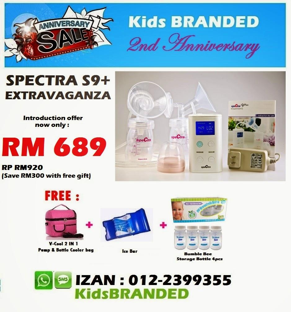SPECTRA S9+ EXTRAVAGANZA