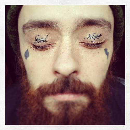 eyelid tattoos