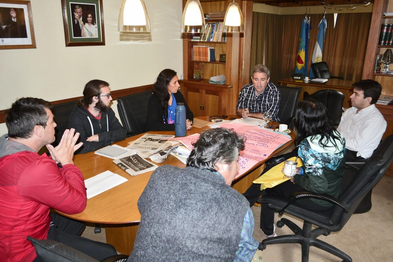 Reunión para la creación del Consejo Municipal del Deporte