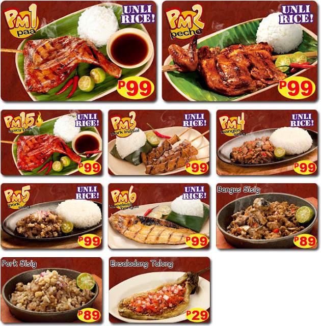 inasal mang inasal menu
