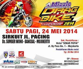 Hasil Drag Bike Mojokerto 24 Mei 2014
