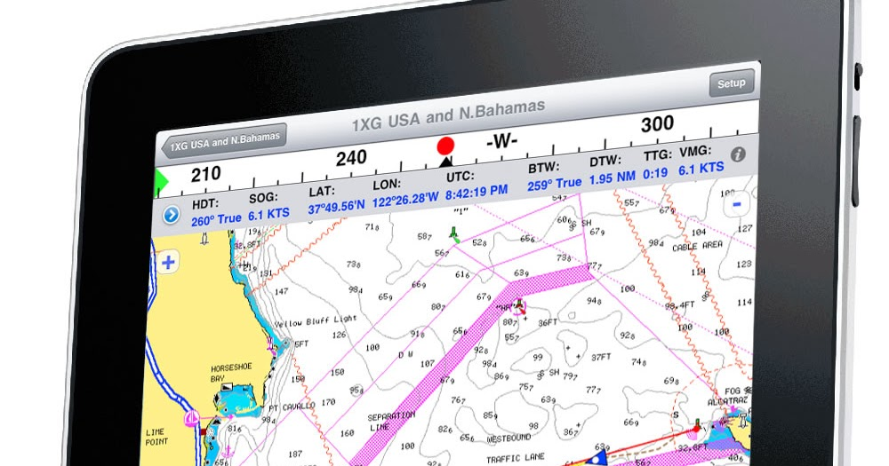 I Marine Apps Ipad Onboard Navigation