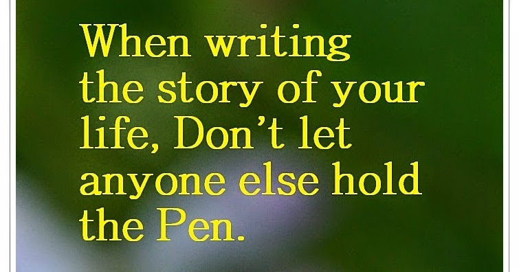 the story of your life essay There are moments in our lives that make us think about the past the best way to go back is to put your own life in words, meaning -- write your own autobiography a.