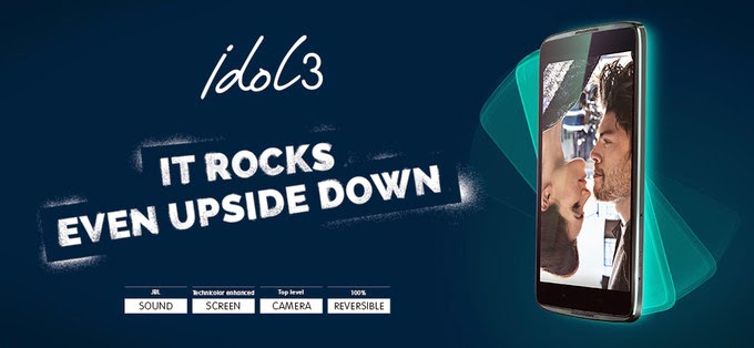 Alcatel One Touch mengumumkan Idol 3 pre-order