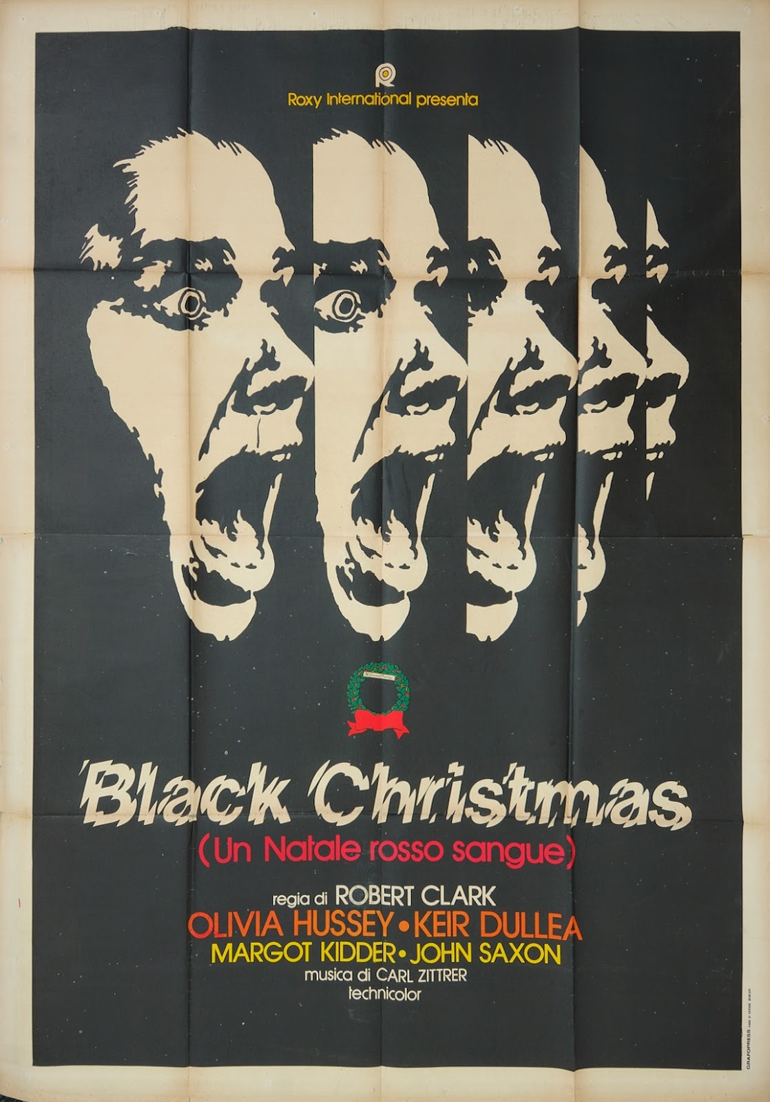 Black Christmas Poster – Merry Christmas And Happy New ...