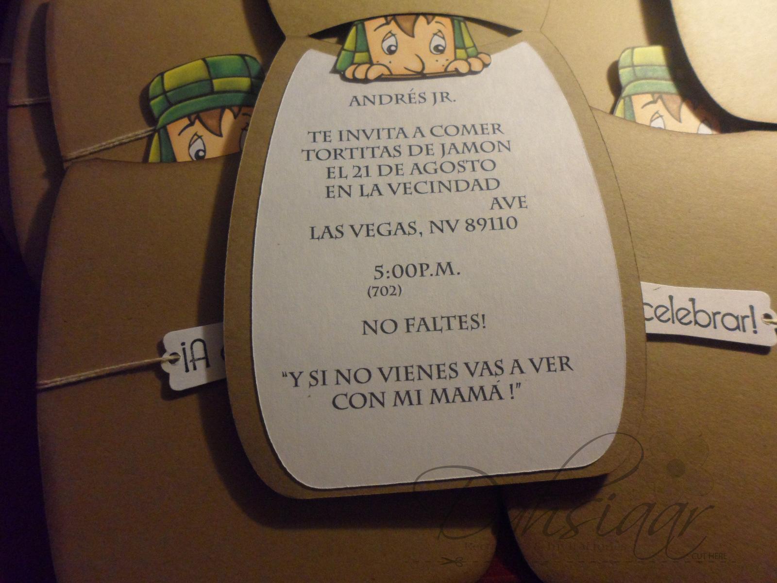 Invitations Decorations
