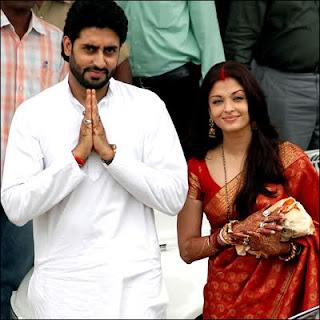 Aishwarya rai bachan and Abhishek