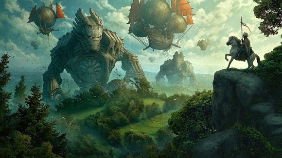CG Art Kerem Beyit Artwork Wallpaper