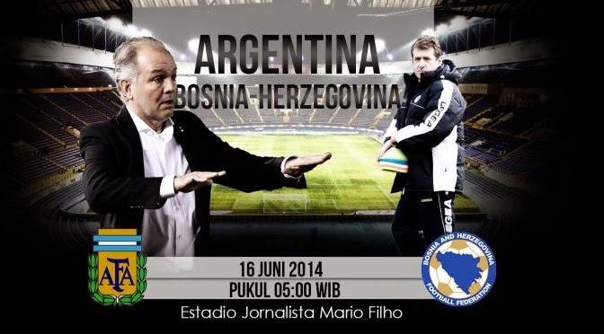 Prediksi Skor Argentina vs Bosnia-Herzegovina 16 Juni 2014