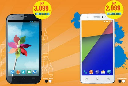 BOLT! Super 4G LTE Merilis 2 Smartphone Android