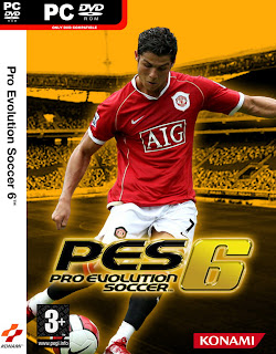 download game pro evolution soccer 6 (PES 6) + patch [terbaru full version]
