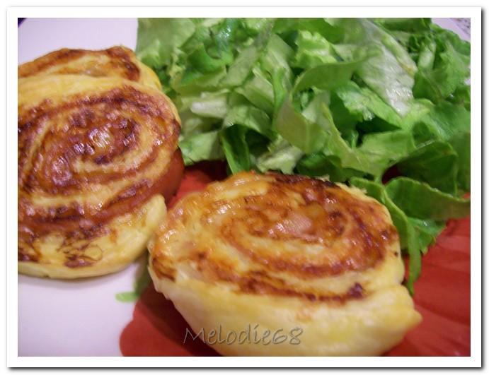 les gourmandises de melodie68 escargots feuillet 233 s au jambon