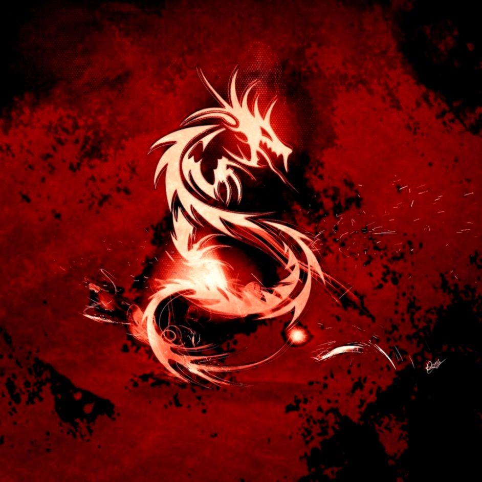 Blood Red Dragon iPad Wallpaper Download  iPhone Wallpapers iPad