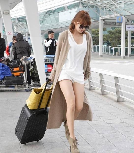 Chic And Blessed Stars 39 Airport Style Yoon Eun Hye