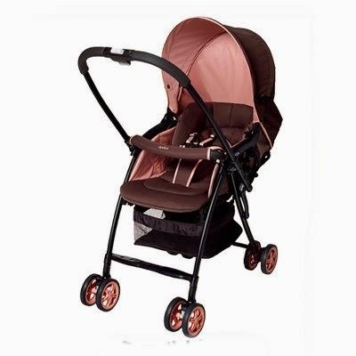 Xe đẩy em bé Aprica Karoon PK màu hồng