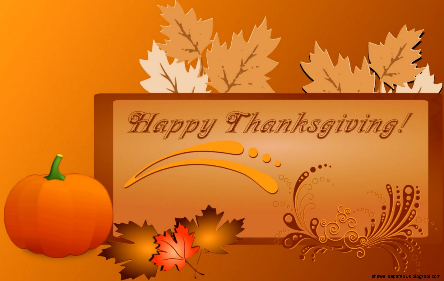 Happy Thanksgiving Free Desktops