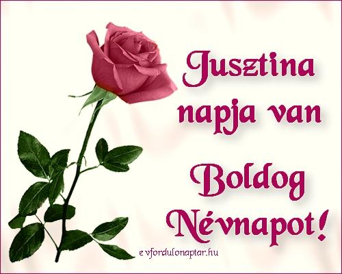 Szeptember 26 - Jusztina névnap