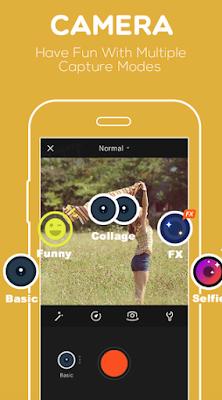 VivaVideo Capture Mode Screenshot