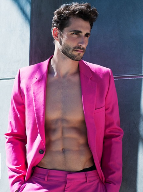 Josh Truesdell by Scott Hoover shirtless