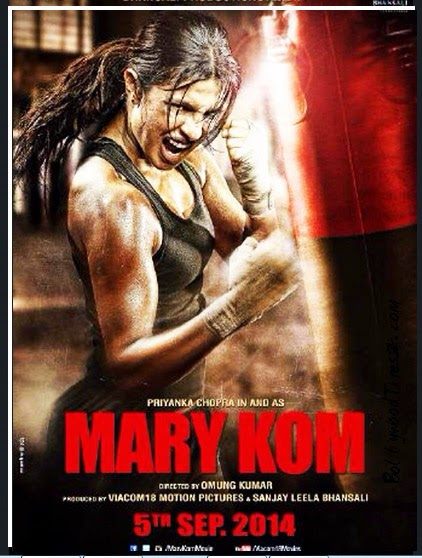 Mary-Kom-Hindi-Movie-Poster-Photos-First Look Poster-2014