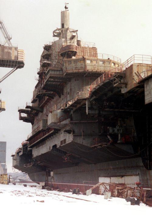 proyek kapal induk china