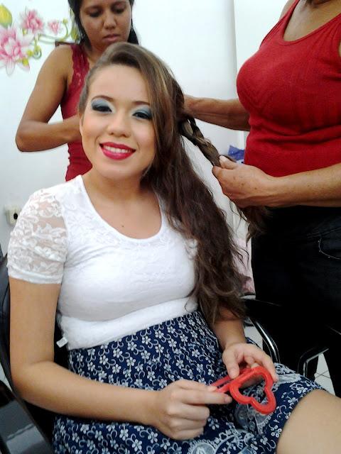 Make Up por Érika Silva - Salão Zeza.