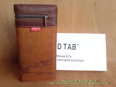 Dompet Kulit Panjang Resleting Luar