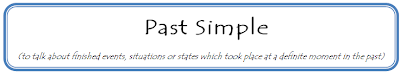 past simple tense test