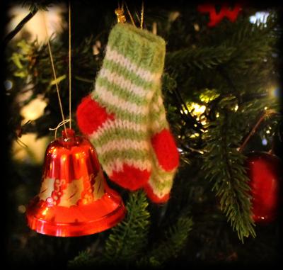 Strikket julepynt