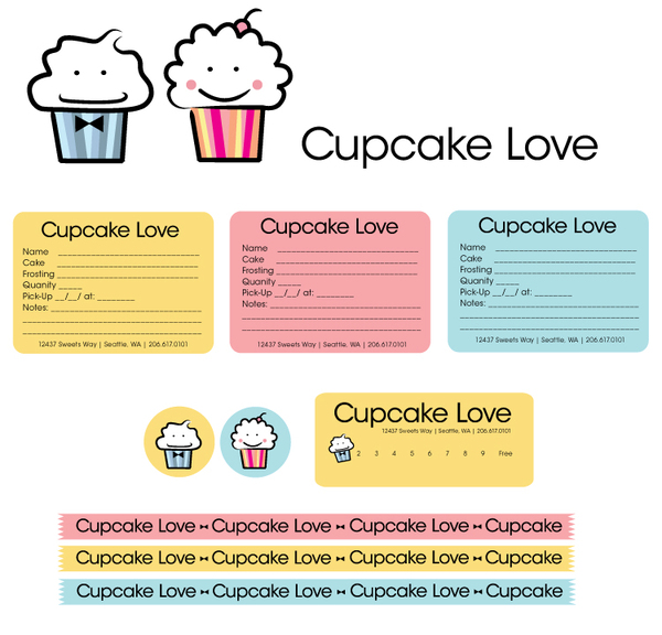 Cake And Cupcake Order Form Template  The Best Sweet Moments Of
