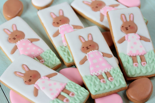 Galletas decoradas de Pascua, Easter decorated cookies