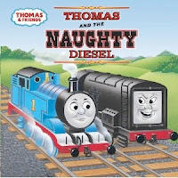 bookcover of Thomas and the Naughty Diesel