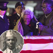 (Heartbreaking)Woman who waited for her solider husband to return from war receives his remains in tears after 63years(Pictured)