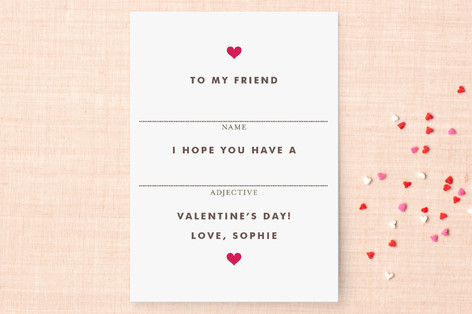 Minted Valentines Day Cards Classroom Card Deals Easy