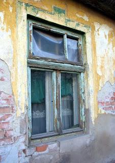 stare okna z pcv