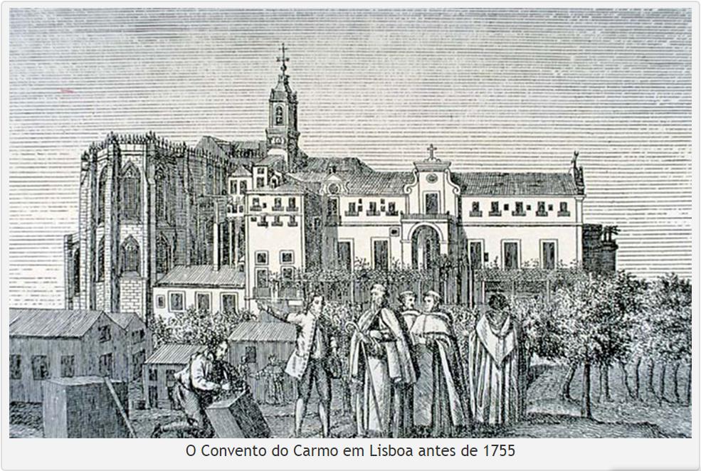 couvent du carmo avant 1755