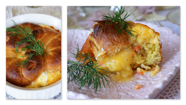... breakfast casserole and a deliciously rich dish to serve for brunch