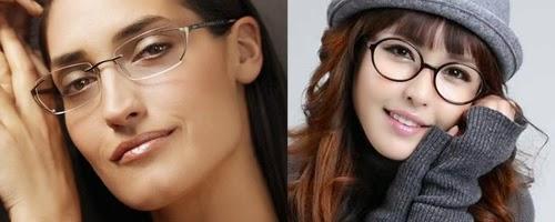 Model kacamata minus sesuai bentuk wajah