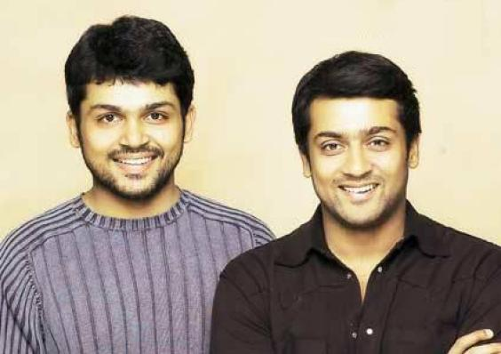 Surya & His Brother Actor Karthi