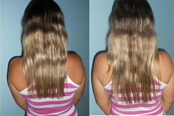 Os cabelos da Aline tamanho maior