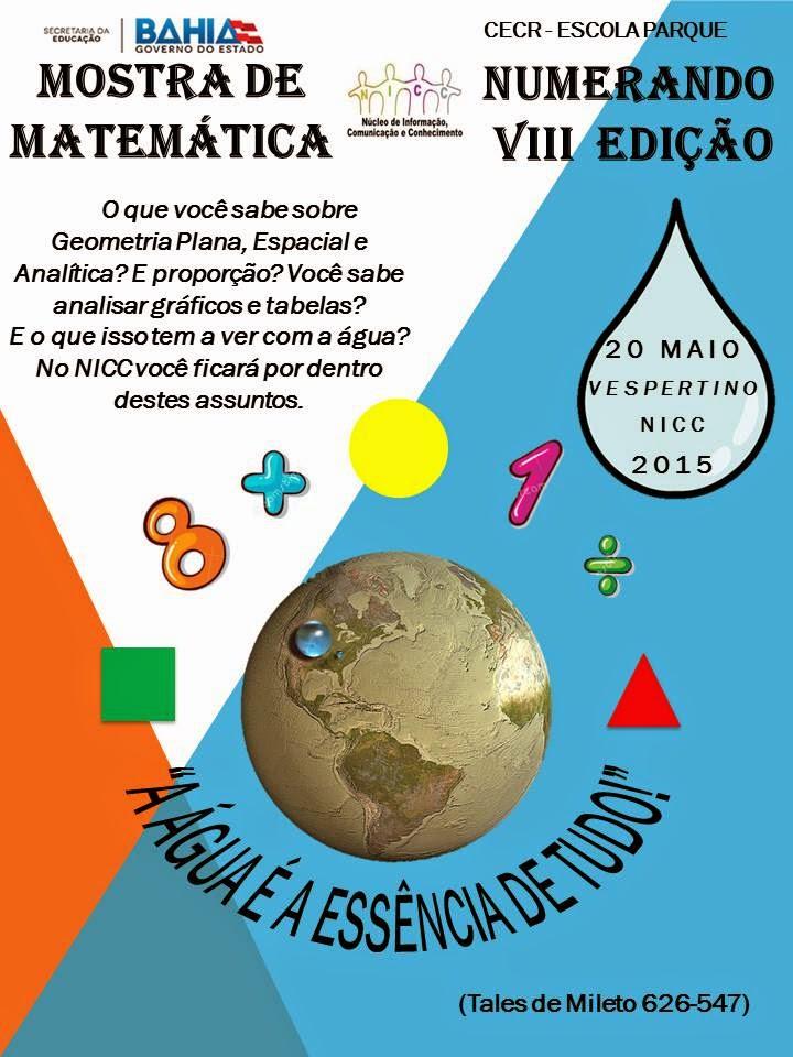 Mostra de Matemática e Numerando 2015